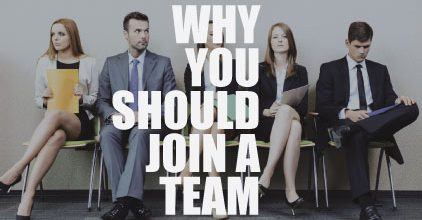 Why Real Estate Agents Should Join a Team