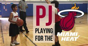 PJ SMCAA San Marino Community Athletic Association Basketball Miami Heat