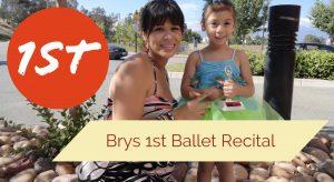 Bryannahs First Dance Recital Argueta Family