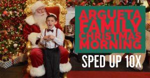 Santa's Secret Cam Argueta Family Christmas Morning