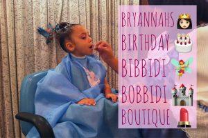 Bryannah's Birthday at Bibbidi Bobbidi Boutique