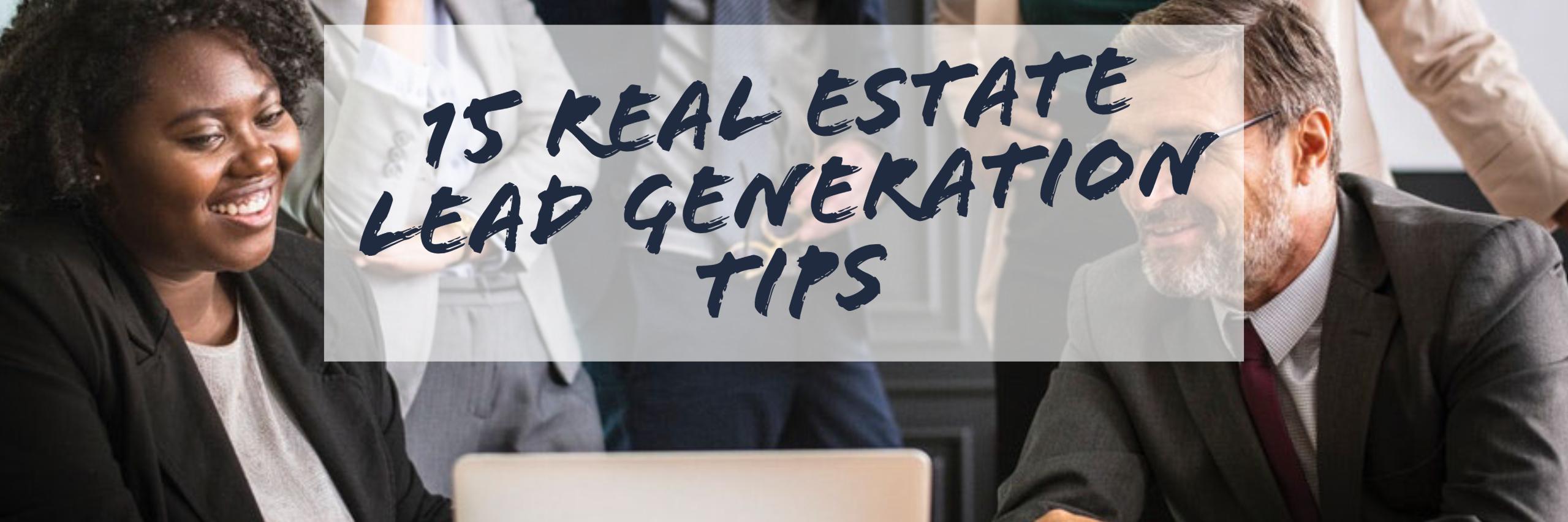 15 Lead Generation Tips
